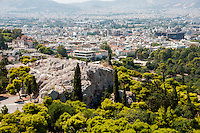 Athens, Greece - Historic icons, ruins, and buildings