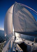 Sailing on Lake macquarie, Australia