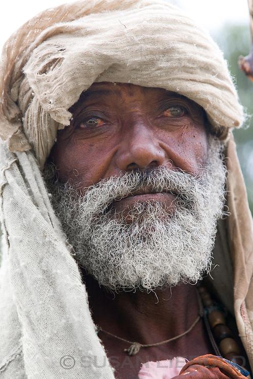 Old man in Ethiopia.