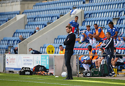 Exeter City manager Matt Taylor looks on - Mandatory by-line: Arron Gent/JMP - 18/06/2020 - FOOTBALL - JobServe Community Stadium - Colchester, England - Colchester United v Exeter City - Sky Bet League Two Play-off 1st Leg