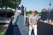 Rory McIlroy (NIR) walks to the clubhouse after finishing on the 18th hole during the second round of the 100th PGA Championship at Bellerive Country Club, St. Louis, Missouri, USA. 8/11/2018.<br /> Picture: Golffile.ie   Brian Spurlock<br /> <br /> All photo usage must carry mandatory copyright credit (© Golffile   Brian Spurlock)