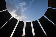 The interior of the Armenian genocide memorial in Yerevan, Armenia. The structure serves to remember the upto 1.8 million Armenians killed from 1915-1923 in Turkey.