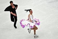 Charlene GUIGNARD, Marco FABBRI Italy <br /> Ice Dance Short Dance <br /> Milano 23/03/2018 Assago Forum <br /> Milano 2018 - ISU World Figure Skating Championships <br /> Foto Andrea Staccioli / Insidefoto