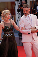 Taika Waititi and Naomi Watts at the premiere gala screening of the film Suspiria at the 75th Venice Film Festival, Sala Grande on Saturday 1st September 2018, Venice Lido, Italy.