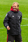 Head coach Scott Robertson.<br /> Crusaders training during Covid-19 level 2 lockdown on Monday 18th May 2020 at Rugby Park, Christchurch, New Zealand.<br /> Copyright photo: Crusaders.co.nz