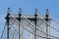 Manhattan Bridge - New York City in October 2008