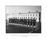 Passing Out Parade of Gardai - 12 New Ban Gardai.04/12/1959 Phoenix Park