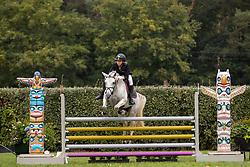 De Cock Lio, BEL, Garryduff Kamilla<br /> Nationaal Kampioenschap LRV Ponies <br /> Lummen 2020<br /> © Hippo Foto - Dirk Caremans<br /> 27/09/2020
