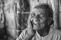 """Maria Zileny - at Tsimanga ferry.  We had a very nice conversation with her as we waited for the ferry.  She wanted to give us some words of wisdom.  """"We are all one.""""  Amazing moment I will never forget."""