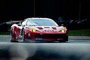 August 4-6, 2011. American Le Mans Series, Mid Ohio. 62 Risi Competizione, Jaime Melo, Toni Vilander, Ferrari 458 Italia GT2