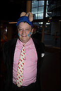 SIR NORMAN ROSENTHAL, Andrew Logan's Alternative Miss World 2014. Shakespeare's Globe, London. 18 October 2014.