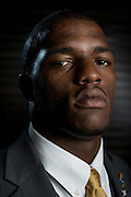 DALLAS, TX - JULY 21:  Kansas tight end Jimmay Mundine poses for a portrait during the Big 12 Media Day on July 21, 2014 at the Omni Hotel in Dallas, Texas.  (Photo by Cooper Neill/Getty Images) *** Local Caption *** Jimmay Mundine