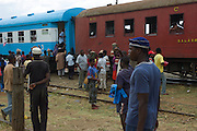 The train van Numpala to Cuamba, takes you through one of the poorest parts of beautiful Mozambique. In an area where roads are not always there, this train is the life line for thousands of people who depend on its regular supply of customers.