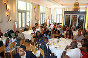 24 June 2010- Miami Beach, Florida- Crowd at the The 2010 American Black Film Festival Founder's Brunch held at Emeril's on June 24, 2010. Photo Credit: Terrence Jennings/Sipa