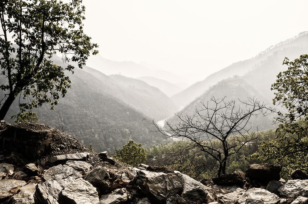 Himalayan foothills.