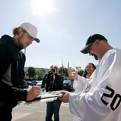20110222: USA, Ice Hockey - LA Kings Practice