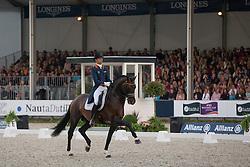 Minderhoud Hans Peter (NED) - Glock's Johnson TN<br /> CDIO5 Grand Prix Freestyle <br /> CHIO Rotterdam 2014<br /> © Dirk Caremans