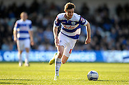 Queens Park Rangers Will Keane in action. Skybet football league championship match , Queens Park Rangers v Blackpool at Loftus Road in London  on Saturday 29th March 2014.<br /> pic by John Fletcher, Andrew Orchard sports photography.