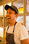 Chef Nurdin Topham at NUR, 3/F, 1 Lyndhurst Terrace, Hong Kong