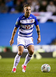 Reading's Roy Beerens during the Carabao Cup, third round match at the Madejski Stadium, Reading.
