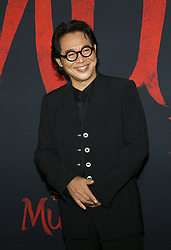 Jet Li at the World premiere of Disney's 'Mulan' held at the Dolby Theatre in Hollywood, USA on March 9, 2020.