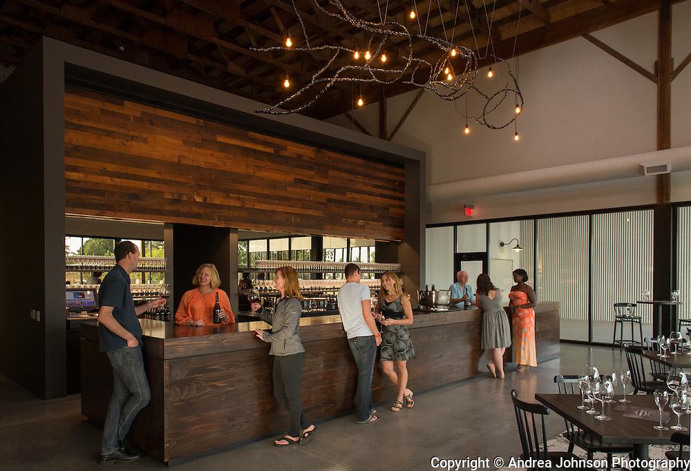 Argyle's new tasting room, Dundee, Willamette Valley, Oregon