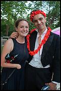 GEORGIE GRAY; KIT WILSON, The Tercentenary Ball, Worcester College. Oxford. 27 June 2014