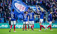 Fotball<br /> Tippeligaen <br /> Vålerenga VIF - Tromsø TIL<br /> Ullevål Stadion 17.04.16<br /> Deshorn Brown har gitt vif ledelsen , Niclas castro feiorer assist<br /> <br /> Foto: Eirik Førde