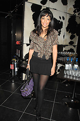 TV presenter SARAH-JANE CRAWFORD at the opening of the new Gaucho restaurant at the O2 Arena, London on 15th May 2008.<br />
