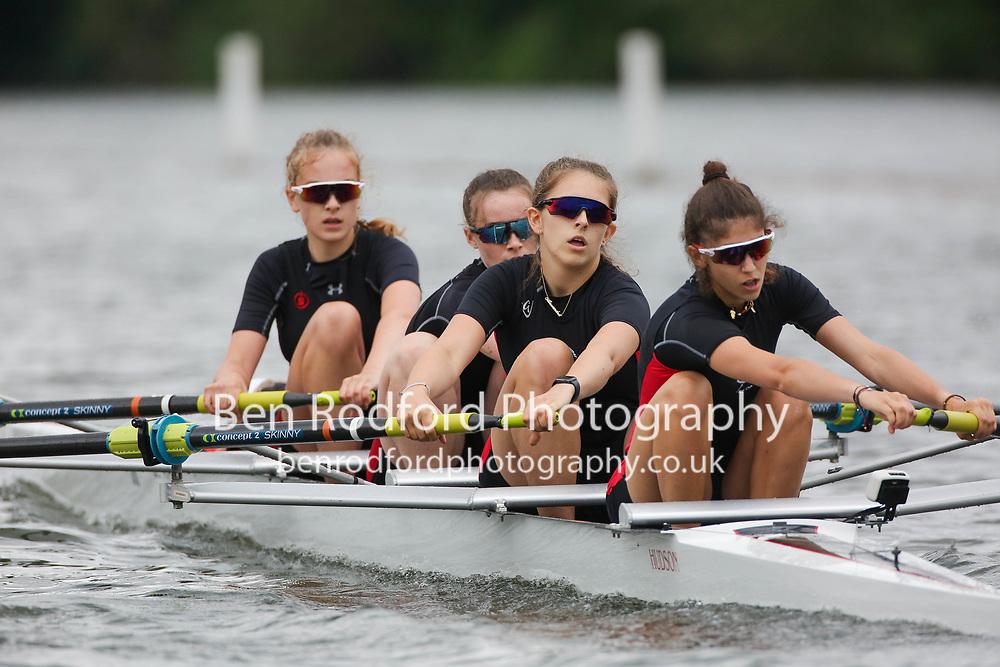 Junior 16 4+  Heat<br /> <br /> Surbiton High School (B)<br /> Godolphin & Latymer School <br /> <br /> Henley Women's Regatta 2021<br /> Saturday