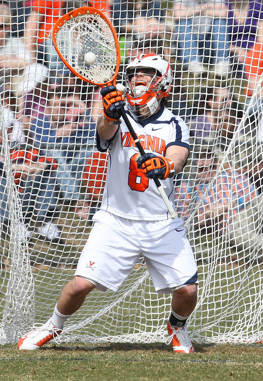 Rhamel Bratton scored a career-high four goals to pace the No. 2 Virginia Cavaliers (4-0) to a narrow triumph over the No. 1 Syracuse Orange (2-1), 11-10, on Sunday March 6, 2010 in front of 7,501 raucous fans at Klöckner Stadium in Charlottesville, Va. (Photo/Andrew Shurtleff)