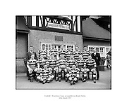 Football - Wanderers Team  at Landsdowne Rd - Special for Wanderers.18/03/1957..Wanderers F.C is the second oldest Rugby Club in Ireland. It was founded in 1870 by former members of Dublin University F.C. It was one of the foundng teams in the Irish Rugby Football Union and the club is currently in its 140th season. .http://www.wanderersfcrugby.com/index.php?option=com_content&view=category&id=2&layout=blog&Itemid=3