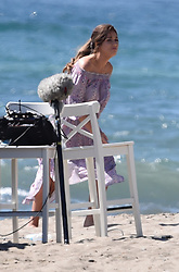 EXCLUSIVE: Vicky Pattison filming her new show in Marbella. Vicky was seen guzzling champagne during filming. 18 Sep 2017 Pictured: Vicky Pattison. Photo credit: MEGA TheMegaAgency.com +1 888 505 6342
