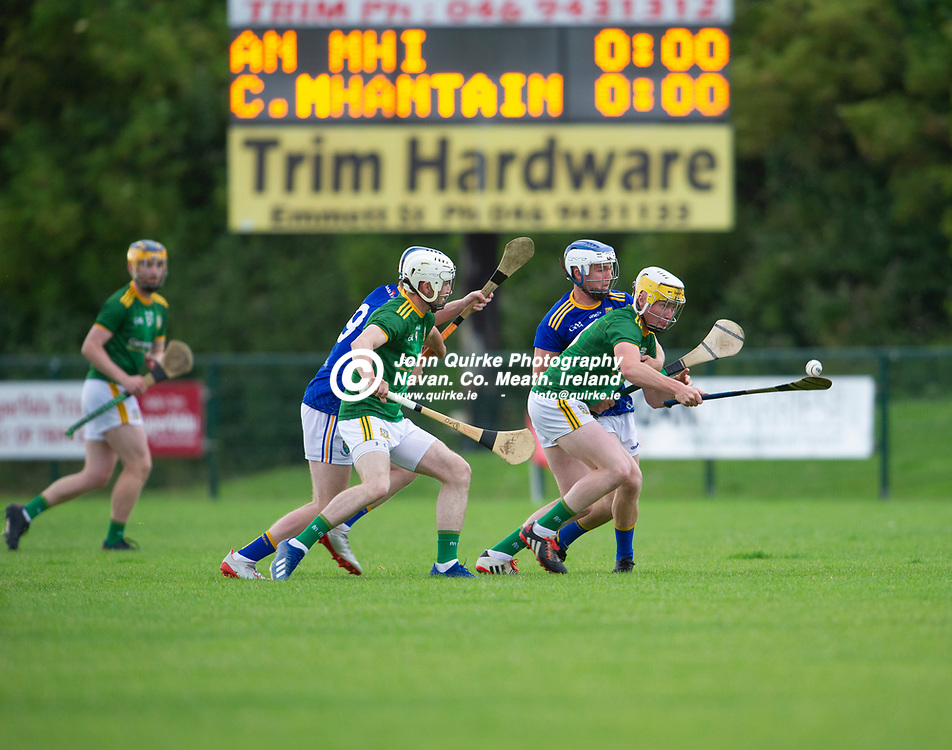 13-07-21. Meath v Wicklow - Leinster U-20 B Hurling Championship (Richie McElligott Cup) 2021 at St. Loman's Park, Trim.<br /> Justin Coyne Meath breaking away from the throw in at the start of the Leinster U-20 B Hurling Championship (Richie McElligott Cup) 2021<br /> Photo: John Quirke / www.quirke.ie<br /> ©John Quirke Photography, 16 Proudstown Road, Navan. Co. Meath. (info@quirke.ie / 046-9028461 / 087-2579454).