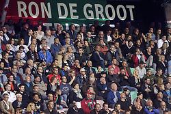 Ron de Groot tribune during the Jupiler League match between NEC Nijmegen and MVV Maastricht at the Goffert stadium on September 29, 2017 in Nijmegen, The Netherlands