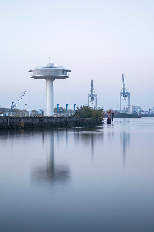 Spaziergang durch die HafenCity, Hamburg am 8. November 2020