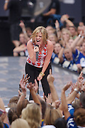 INDIANAPOLIS, IN - SEPTEMBER 06:  Musician Kelly Clarkson performs during the 2007 NFL Opening Kick-Off - Show on September 6, 2007 in Indianapolis, Indiana.  (Photo by Michael Hickey/WireImage) Photo by Michael Hickey