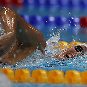 Allison Schmitt, USA,  in action during the Women's 400m Freestyle heats during the swimming heats at the Aquatic Centre at Olympic Park, Stratford during the London 2012 Olympic games. London, UK. 29th July 2012. Photo Tim Clayton