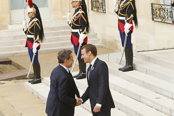 September 15, 2017 - Paris, France, France - Nicolas Sarkozy - Emmanuel Macron (Credit Image: © Panoramic via ZUMA Press)