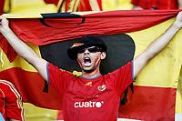 GEPA-2206086819 - WIEN,AUSTRIA,22.JUN.08 - FUSSBALL - UEFA Europameisterschaft, EURO 2008, Spanien vs Italien, ESP vs ITA, Viertelfinale. Bild zeigt einen Spanien-Fan.<br />Foto: GEPA pictures/ Felix Roittner