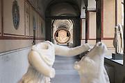 Opere d'arte in custodia presso il Reparto Operativo Carabinieri Tutela Patrimonio Culturale a Roma, Caserma La Marmora. 11 novembre 2015.  Christian Mantuano / OneShot