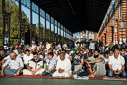 September 1, 2017 - Turin, Piedmont, Italy - Turin, Italy - September 1, 2017: Islamic Sacrifice Festival at Dora Park in Turin, Italy (Credit Image: © Stefano Guidi via ZUMA Wire)