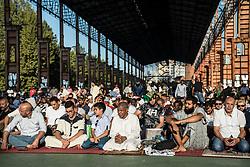 September 1, 2017 - Turin, Piedmont, Italy - Turin, Italy - September 1, 2017: Islamic Sacrifice Festival at Dora Park in Turin, Italy (Credit Image: © Stefano Guidi via ZUMA Wire)
