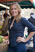 Amelia Freer in Borough Market