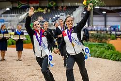 Boe Kristina, GER, Derks Janika, GER<br /> World Equestrian Games - Tryon 2018<br /> © Hippo Foto - Stefan Lafrenz<br /> 22/09/18