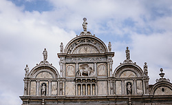 THEMENBILD - Basilica dei Santi Giovanni e Paolo, aufgenommen am 04. Oktober 2019 in Venedig, Italien // Basilica dei Santi Giovanni e Paolo in Venice, Italy on 2019/10/04. EXPA Pictures © 2019, PhotoCredit: EXPA/ JFK