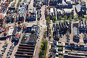 Nederland, Utrecht, Bunschoten-Spakenburg, 01-05-2013;<br /> Nieuwbouwwijk met huizen in oude stijl. <br /> New residential neighbourhood with old style houses. <br /> luchtfoto (toeslag op standard tarieven)<br /> aerial photo (additional fee required)<br /> copyright foto/photo Siebe Swart