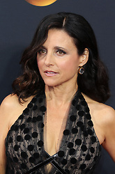 Julia Louis-Dreyfus arriving for The 68th Emmy Awards at the Microsoft Theater, LA Live, Los Angeles, 18th September 2016.