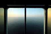 view from window over the vast sea