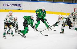 13# Pance Ziga of HK SZ Olimpija during the match of Alps Hockey League 2020/21 between HK SZ Olimpija Ljubljana vs. EC Bregenzerwald, on 09.01.2021 in Hala Tivoli in Ljubljana, Slovenia. Photo by Urban Meglič / Sportida